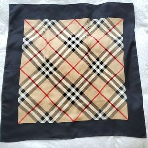 Burberry Scarf 100% silk 34""